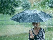 Vreme instabila la inceput de saptamana! Ploi si grindina in majoritatea tarii