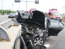 Accident grav pe Podul Baneasa! Traficul, blocat!