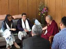 Iulia Vantur si Salman Khan, vizita de nunta la Dalai Lama?