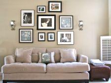 Decorarea casei cu tablouri sau rame foto! Reguli de care sa tii cont