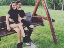 Fiica Andreei Esca primeste declaratii de dragoste publice de la iubit!