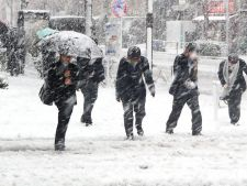 VREMEA Ciclonul polar Olaf, in Romania!  Vine vremea rea!