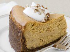 Cheesecake cu dovleac, o reteta ideala in zilele racoroase de toamna