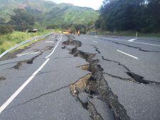 Imagini socante! 1200 de cutremure si 100.000 de alunecari de teren in Noua Zeelanda