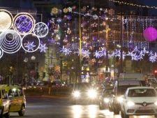 Capitala, luminata de sarbatori de 3 milioane de beculete! Surprizele Targului de Craciun