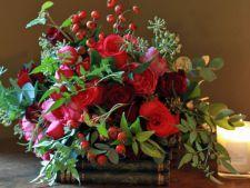 aranjamente florale craciun