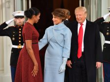 Melania Trump, criticata din prima zi in calitate de Prima Doamna!