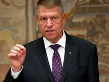 Klaus Iohannis, in Parlament: