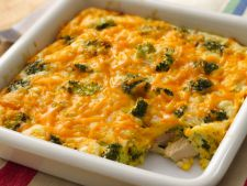 Broccoli cu orez si branza la cuptor, o reteta pe care sa o incerci