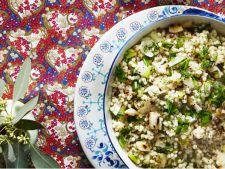 salata fregula cu ceapa fripta