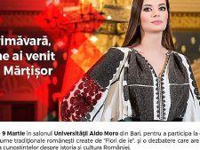 Ia romaneasca, prezentata la Universitatea din Bari, Italia