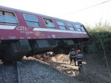 Un tren a deraiat in aceasta dimineata, in Romania! Calatorii au trait clipe de cosmar