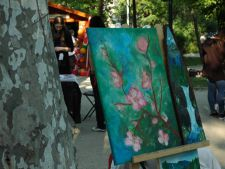 Gradina cu artisti