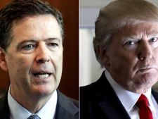 Donald Trump si James Comey