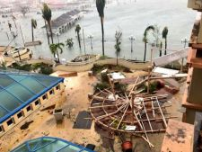 UPDATE Cei trei romani dati disparuti in urma uraganului Irma, au fost gasiti