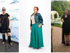Ai cateva kilograme in plus? Invata de la Oana Roman cum sa te imbraci ca sa le ascunzi!