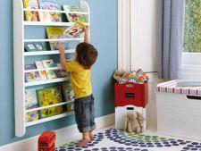 Biblioteci ideale pentru camera copiilor! Inspira-i celui mic pofta pentru lectura