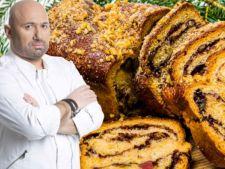 Cum prepari cel mai bun cozonac de Paste! Reteta lui Chef Catalin Scarlatescu