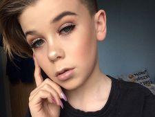 PRO sau CONTRA: La 11 ani, un baiat se machiaza ca o femeie