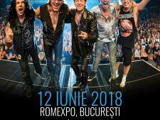 Mai putin de o luna pana la concertul Scorpions la Bucuresti, in cadrul Crazy World Tour