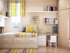 Unde iti pui toate lucrurile cand ai un dormitor mic? Iata 5 idei de depozitare