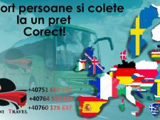 Transport colete Romania - Anglia, Scotia si Germania