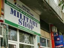 Military shops in Bucuresti