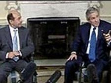Bush si Basescu