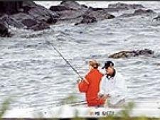 Bush la pescuit