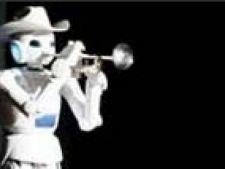 robot trompeta