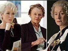 Helen Mirren, Meryl Streep, Judi Dench