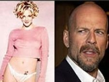 Drew Berrymore  Bruce Willis