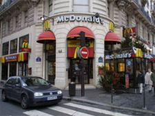 mcdonald's paris