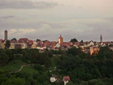 Rothenburg ob der Tauber panorama