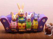 Familie de Iepurasi de Paste