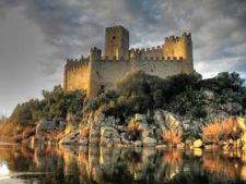 castelul Almourol Portugalia