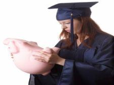 Studentii, fata in fata cu criza financiara