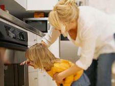 Cum sa asiguri bucataria pentru siguranta celui mic