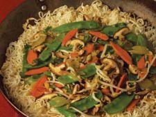 Chow-Mein, meniu chinezesc vegetarian
