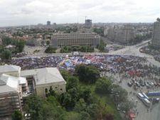 miting sindicalisti guvern