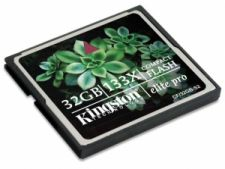 Kingston card 32 GB