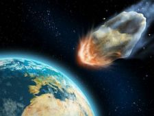 Asteroid-hitting-earth
