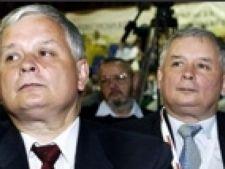 Lech si Jaroslaw Kaczynski