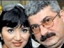 Adriana Bahmuteanu cu Silviu Prigoana