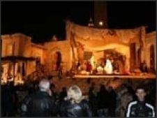 Roma scena de Craciun