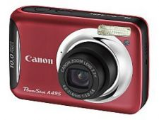 Canon-PowerShot-A495-red