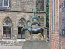 Un oras al libertatii, pazit de Roland si patru muzicanti: Bremen