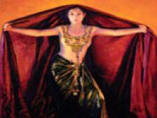femeie dansand