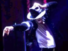 Michael Jackson pe scena