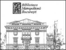 biblioteca metropolitana bucuresti
